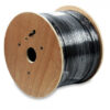 CAT6 OUT/GEL PE 550MHZ BLACK