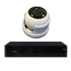 4 Channel Plug + Play PoE Kit – 1 4Channel PoE NVR (2TB)+ 4 pieces 2 MP Outdoor IR Dome Camera w/PoE