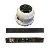 8 Channel Plug + Play PoE Kit – 1 8Channel PoE NVR (2TB) + 4 pieces 2 MP Outdoor IR Dome Camera w/PoE