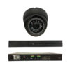 8 Channel Plug + Play PoE Kit – 1 8Channel PoE NVR (2TB) + 4 pieces 4 MP Outdoor IR Dome Camera w/PoE