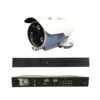 8 Channel Plug + Play PoE Kit – 1 8Channel PoE NVR (2TB) + 4 pieces 2 MP Outdoor IR Bullet Camera w/PoE