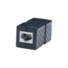 CAT6 F-F BLK COUPLER