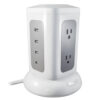 Tower 6 Outlet w/ 4 USB