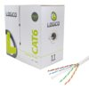 Cat6e UTP CCA Cable 1000ft. (Multiple Colors)